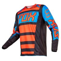 Мотоджерси Fox 180 Falcon Jersey Black/Orange M (17255-016-M)