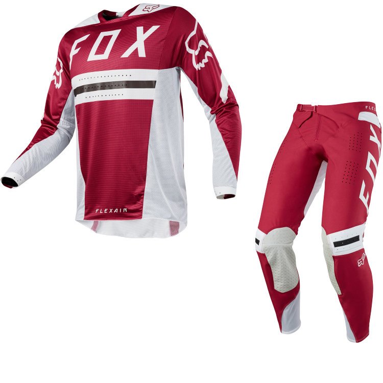 Мотоджерси Fox Flexair Preest Jersey Dark Red XL (19414-208-XL)