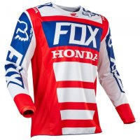 Мотоджерси Fox 180 Honda Jersey Red XXL (19436-003-2X)